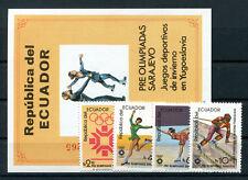 Ecuador 1961/64 Block 110 postfrisch / Olympiade ..........................2/992