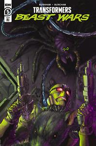 Transformers Beast Wars #5 RI Alex Milne 1:10 Variant NM Free Shipping