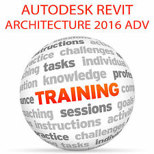 Autodesk REVIT Architecture 2016 Advanced-Video formazione tutorial DVD