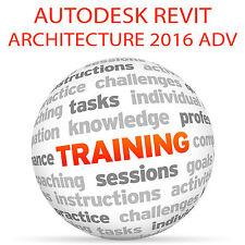 Autodesk REVIT ARCHITECTURE 2016 Advanced - Video Training Tutorial DVD