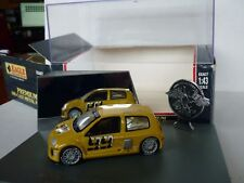 RENAULT CLIO TROPHY PRESENTATION UNIVERSAL HOBBIES DIECAST MODEL 1:43 RARE!!!