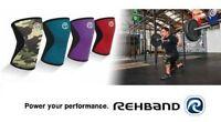 CrossFit Knee Support REHBAND 7751 Core Line Kniebandage Weightlifting