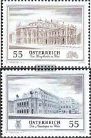 Österreich 2555-2556 (kompl.Ausg.) gestempelt 2005 Burgtheater