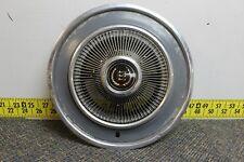 "OEM Ford Single 15"" Hub Cap Wheel Cover Black Center D4AZ1130D 1973-78 (442)"