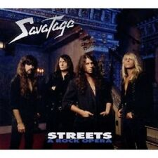 "SAVATAGE ""STREETS - A ROCK OPERA (2011 EDITION)"" CD NEW"
