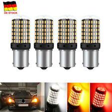 4/2Pc Auto 1156 BA15S 3014 144SMD Fehlerfrei LED Standlicht Lampe Blinker Birnen
