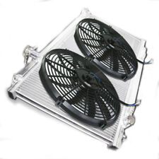 "Dual Core Radiator+12"" Fans for 03-09 Nissan 350Z 2D Manual Transmission 2 Row 2"
