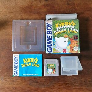 Nintendo Game Boy Game 'Kirby's Dream Land' - Boxed - Complete - Tested - Used