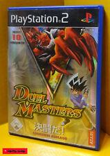 DUEL MASTERS - PS2 Spiel - SONY PlayStation 2, gebraucht, Funktion getestet
