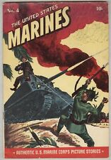 United States Marines #4 VG+ 1944 classic war cover