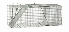 Havahart 1085 Easy Set One-Door Cage Trap for Raccoons, Stray Cats, Groundho.
