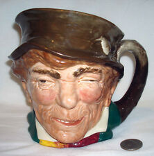 Vintage Royal Doulton England A Paddy Smoking Pipe Character 5 ½� Large Toby Mug