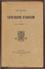 JOSEPH THERMES, LES FILLES DE SAINTE-MARTHE D'ANGOULÊME  1935