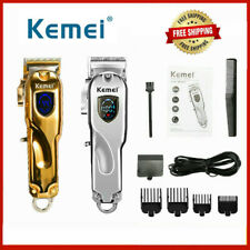 New Kemei All-metal Professional Hair Clipper Electric Cordless Hair Trimmer
