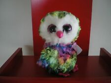 Ty Beanie Boos OWEN the owl 6 inch NWMT. NEW RELEASE.