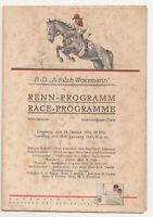 Renn-Programm Adolph Woermann Línea Alemán África Oriental Línea 1933 Hamburgo