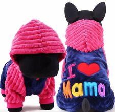 Vestito per Cane Cani Cappotto Maglietta Abbigliamento I Love