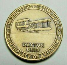 Wright Patterson Afb Dayton Ohio Birthplace of Aviation Usaf Museum Medallion