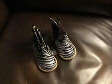 New without tag ROPER baby glitter gal zebra boots,girls  size 2t, so cute!