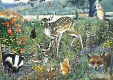 Rectangular Jigsaw - Woodland Friends