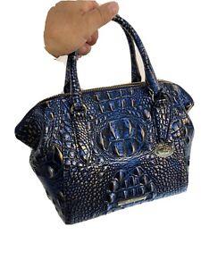 Brahmin Mini Camila Convertible Satchel Crossbody Bag Lazuli Melbourne New