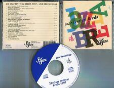 27e jazz Festival Breda CD feel the jazz LIVE RECORDINGS - NL 14-track FTJCD 47