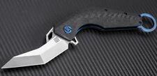 Artisan Cutlery Cobra Folding Knife M390  Stainless Blade Carbon Fiber Handle