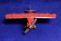 "Original 1930's Tootsie Toy UX214 Aero Dawn Airplane, Wing Span 3.75"""