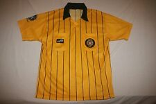 Official Sports Soccer Referee Jersey Men M Yellow NEW