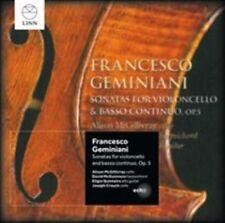 NEW Geminiani: Sonatas for Violoncello & Basso Continuo, Op. 5 (Audio CD)
