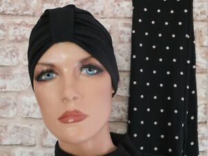 Scarf for turban or hats , wrap around scarf. 60 inch length