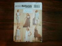 Butterick 5363 Size 8-14 Misses' Jacket Tunic Dress Pants