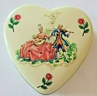 Collector Tin, Heart shaped, Designed by Daher, made in England