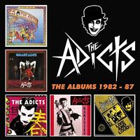 ADICTS - THE ALBUMS 1982-87  5 CD NEU