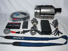 Sony Handycam CCD-TRV65 8mm Video8 HI8 Camcorder Player Stereo Video Transfer