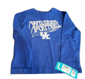 NWT SHIRT UK Wildcats University Kentucky Unisex Kids M Licensed  Long Sleeve