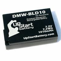 Battery for PanasoniC LumiX DMC GX1, DMC GF2, DMC GX1KK, DMC GF2C, DMW BLD10