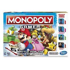 Monopoly Gamer Nintendo Super Mario Edition Board Game Hasbro