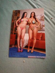 Foto Ava Addams 10x15cm +DVD