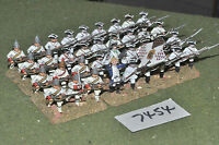 25mm 7YW / french - seven years war infantry 36 figures metal - inf (7454)