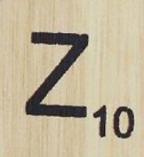 INDIVIDUAL WOOD SCRABBLE TILES! 8 FOR $2, THEN 25 CENTS PER TILE. LETTER Z