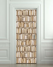 Door STICKER ivory books cabinet