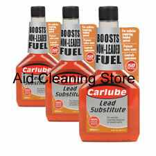 3 x CARLUBE LEAD SUBSTITUTE REPLACEMENT LEADED 4 STAR PETROL FUEL ADDITIVE
