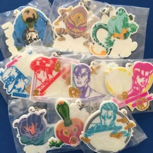 JoJo's Bizarre adventure Rubber Strap Josuke Yuya Echoes Harvest