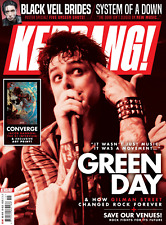 KERRANG magazine 12 May 2018 - Green Day SOAD Converge Black Veil Brides