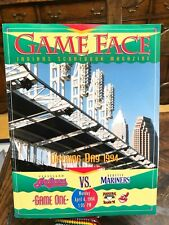 1994 Game Face Jacobs Field Opening Day Indians vs. Seattle Mariners Program