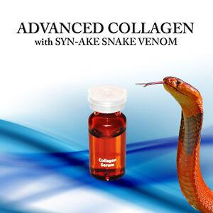 ADVANCED COLLAGEN w SYN-AKE SNAKE VENOM Mesotherapy Derma Roller SERUM VV