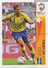 N°477 VIGNETTE PANINI MELLBERG SWEDEN SVERIGE EURO 2008  STICKER
