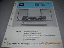 Dual hs35 hs50 service manual