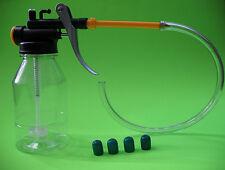 """""""Reverse"""" brake bleeder kit + 4 Neoprene bleeder screw covers (5/16"""" ID)"""